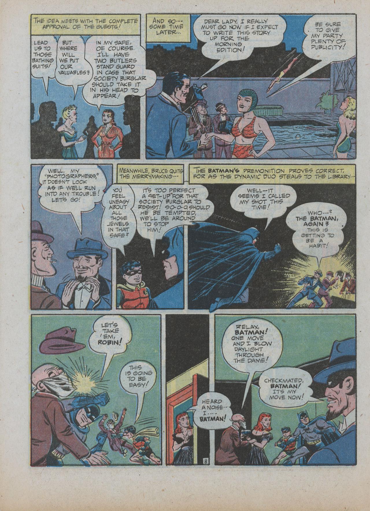 Read online Detective Comics (1937) comic -  Issue #63 - 10