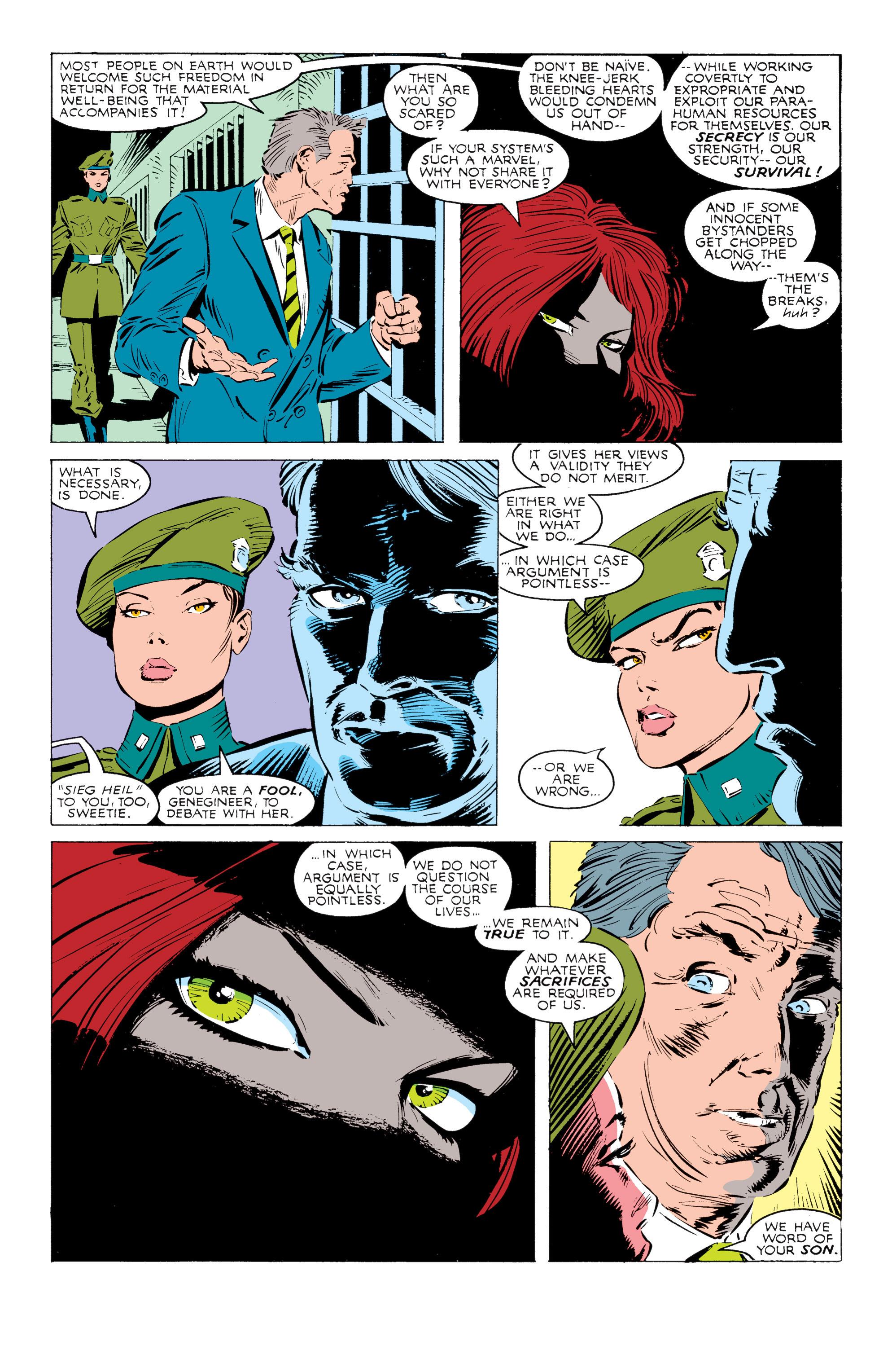 Read online Uncanny X-Men (1963) comic -  Issue #238 - 8
