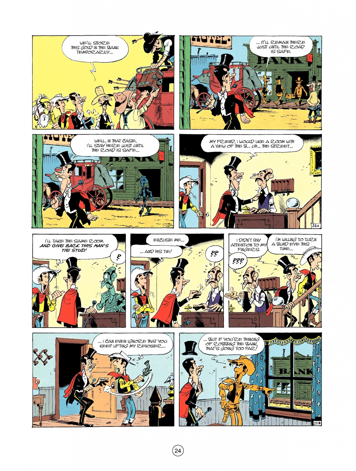 Read online A Lucky Luke Adventure comic -  Issue #37 - 24