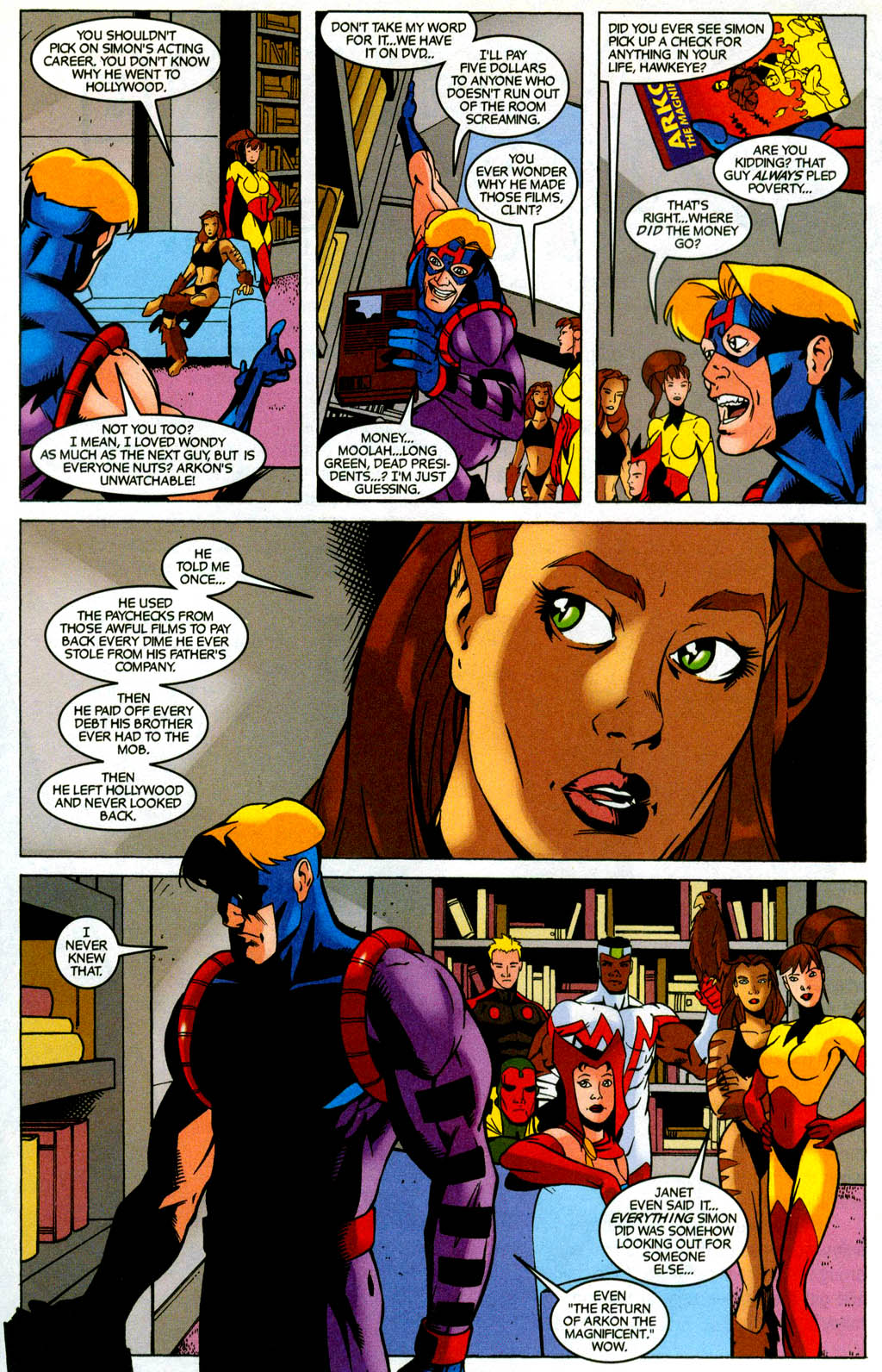 Read online Avengers United They Stand comic -  Issue #3 - 19