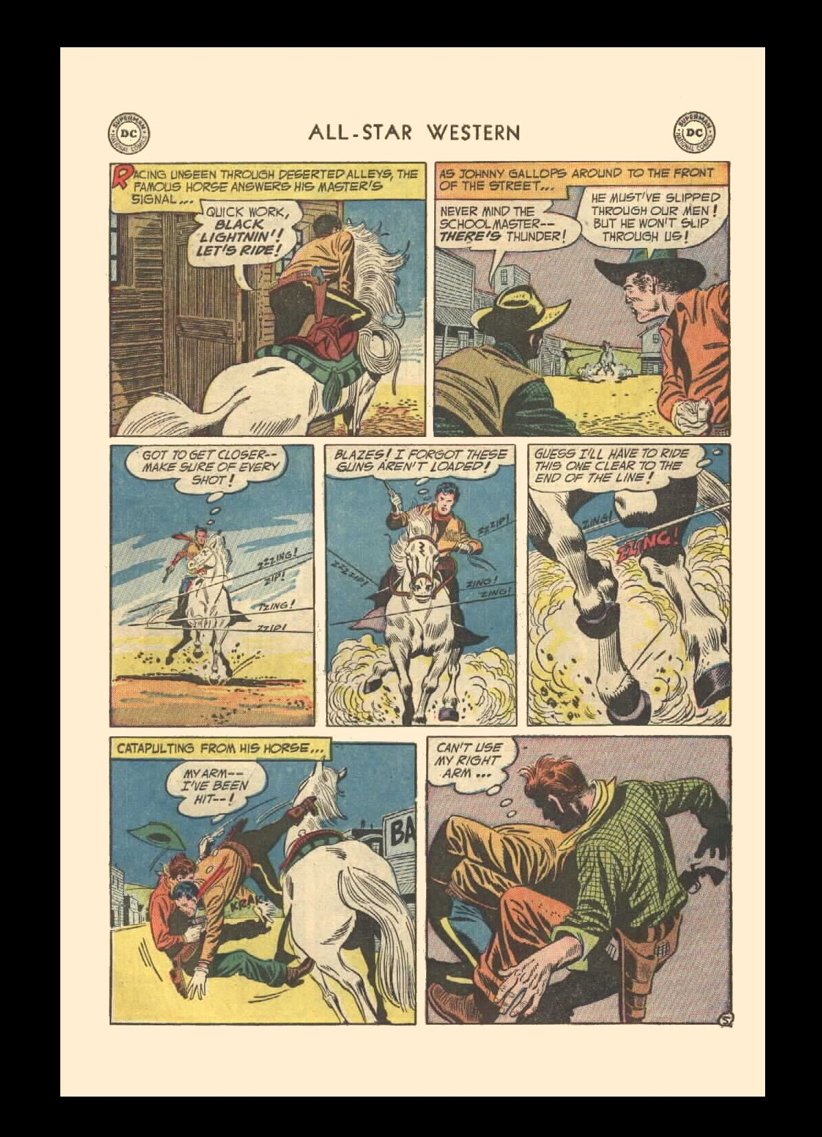 Read online All-Star Western (1951) comic -  Issue #72 - 7