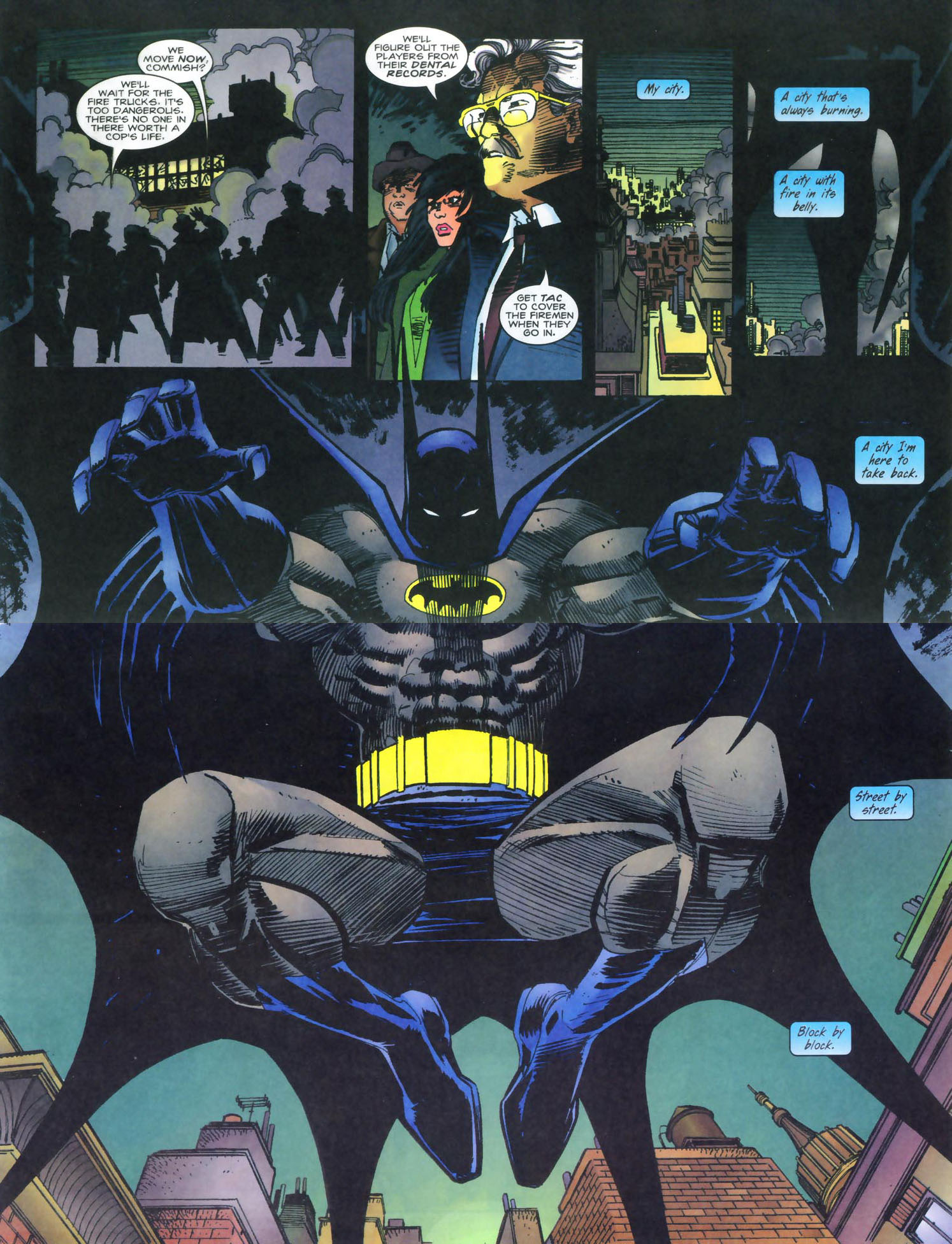 Read online Punisher/Batman: Deadly Knights comic -  Issue # Full - 9