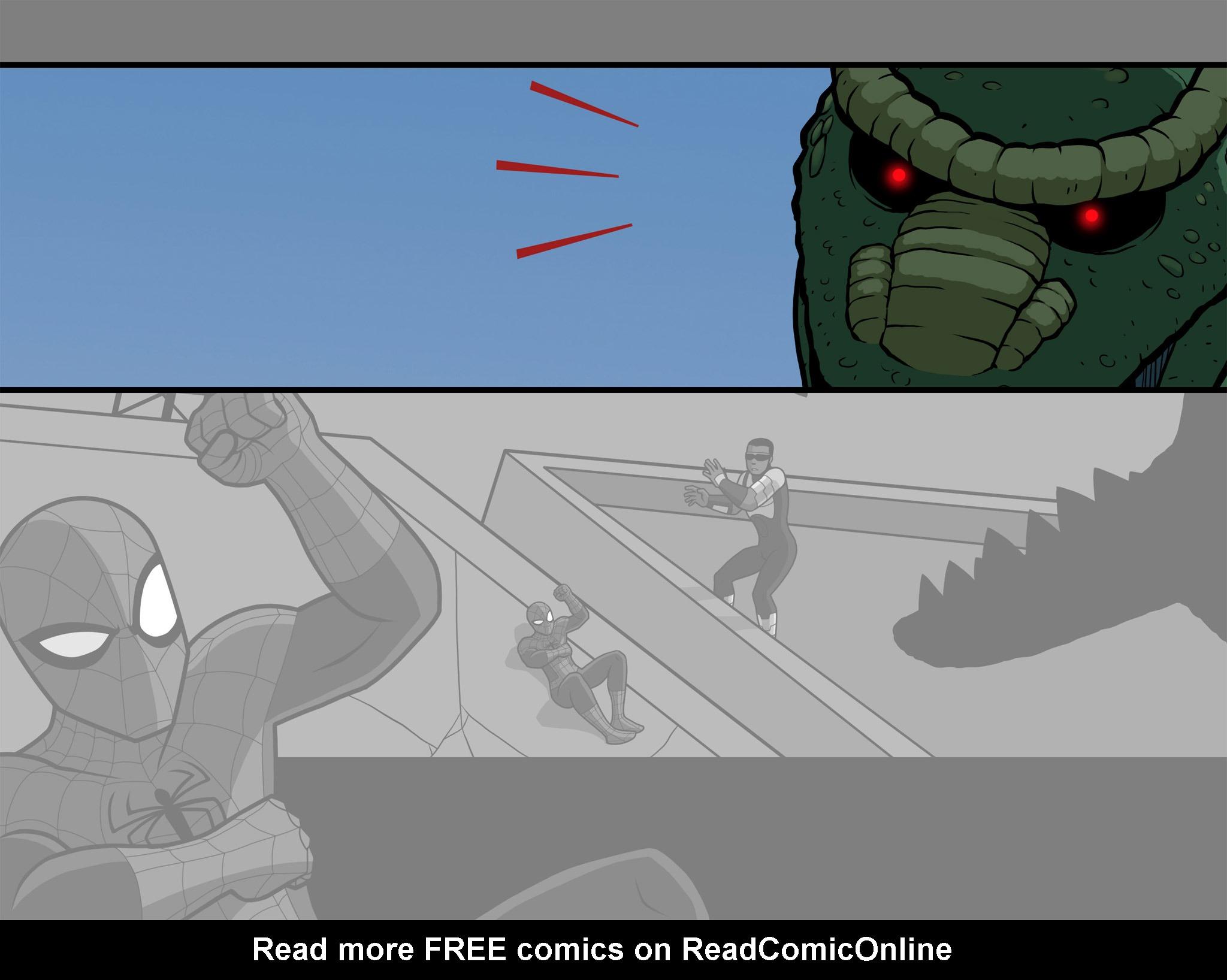 Read online Ultimate Spider-Man (Infinite Comics) (2015) comic -  Issue #10 - 43