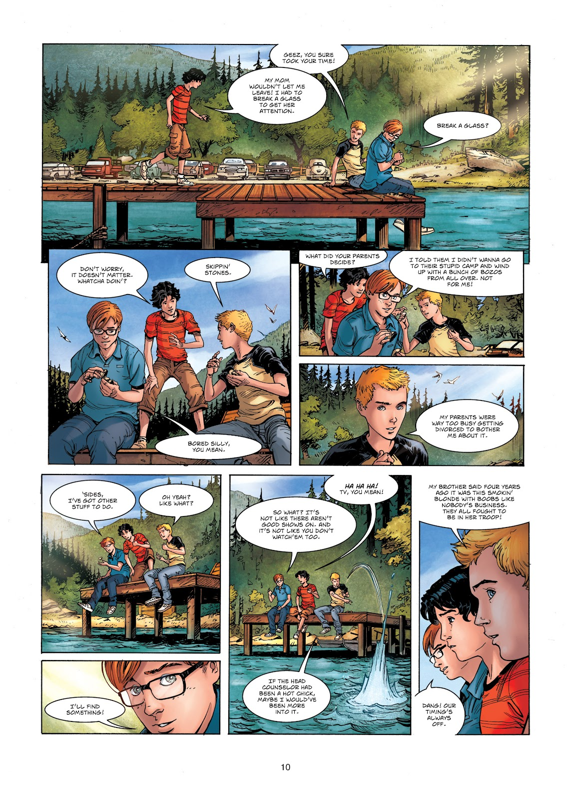 Read online Vigilantes comic -  Issue #1 - 10