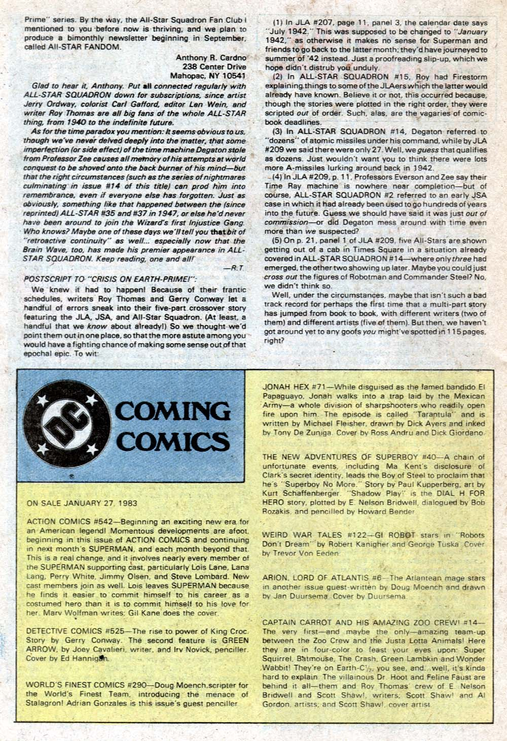 Read online All-Star Squadron comic -  Issue #20 - 29
