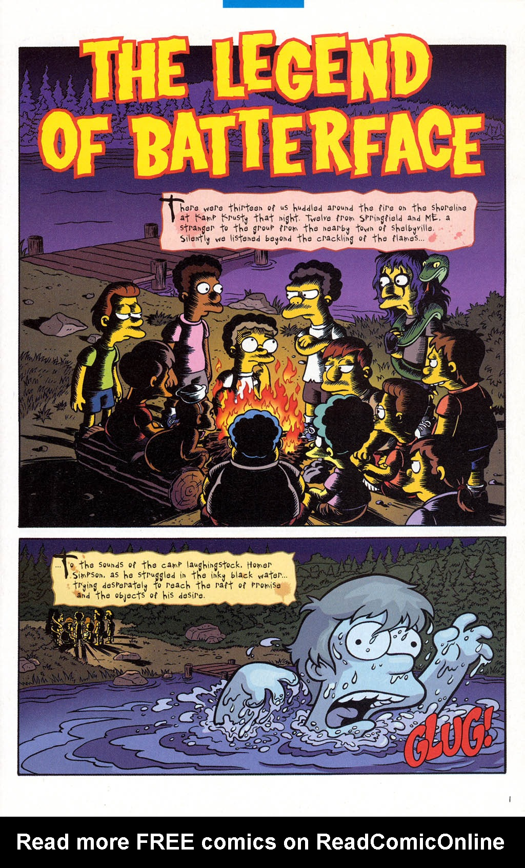 Read online Treehouse of Horror comic -  Issue #10 - 20