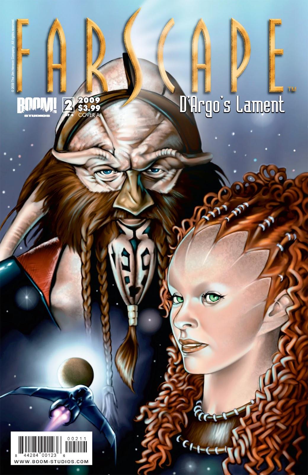 Farscape: D'Argo's Lament issue 2 - Page 1