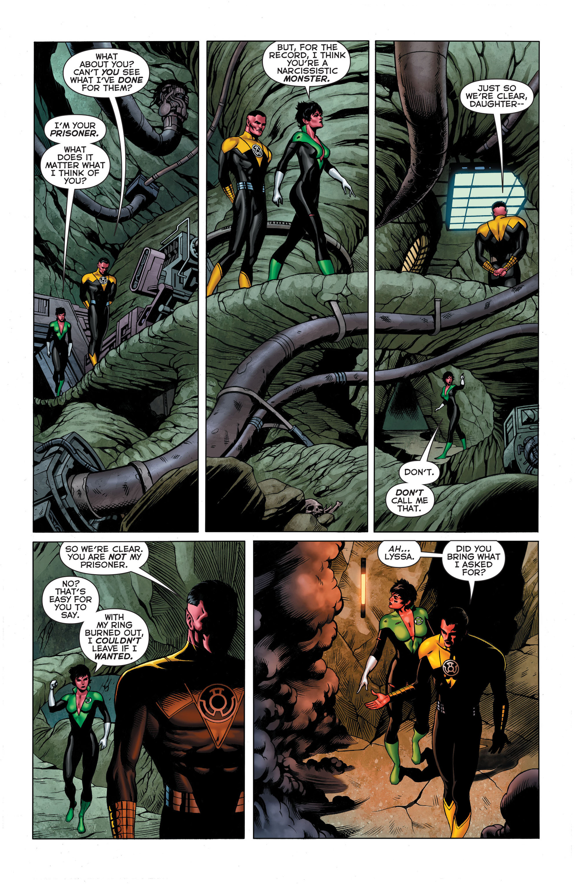 Read online Sinestro comic -  Issue #3 - 9