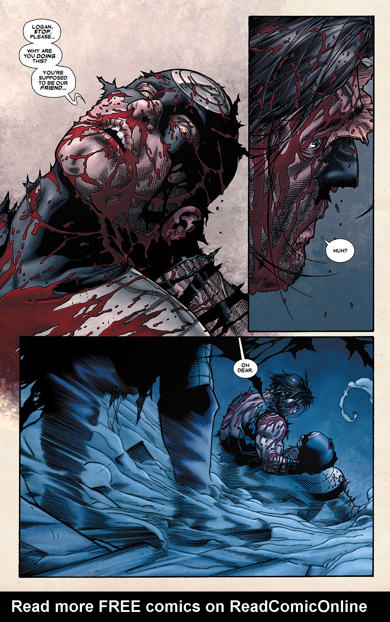 Read online Wolverine: Old Man Logan comic -  Issue # Full - 104