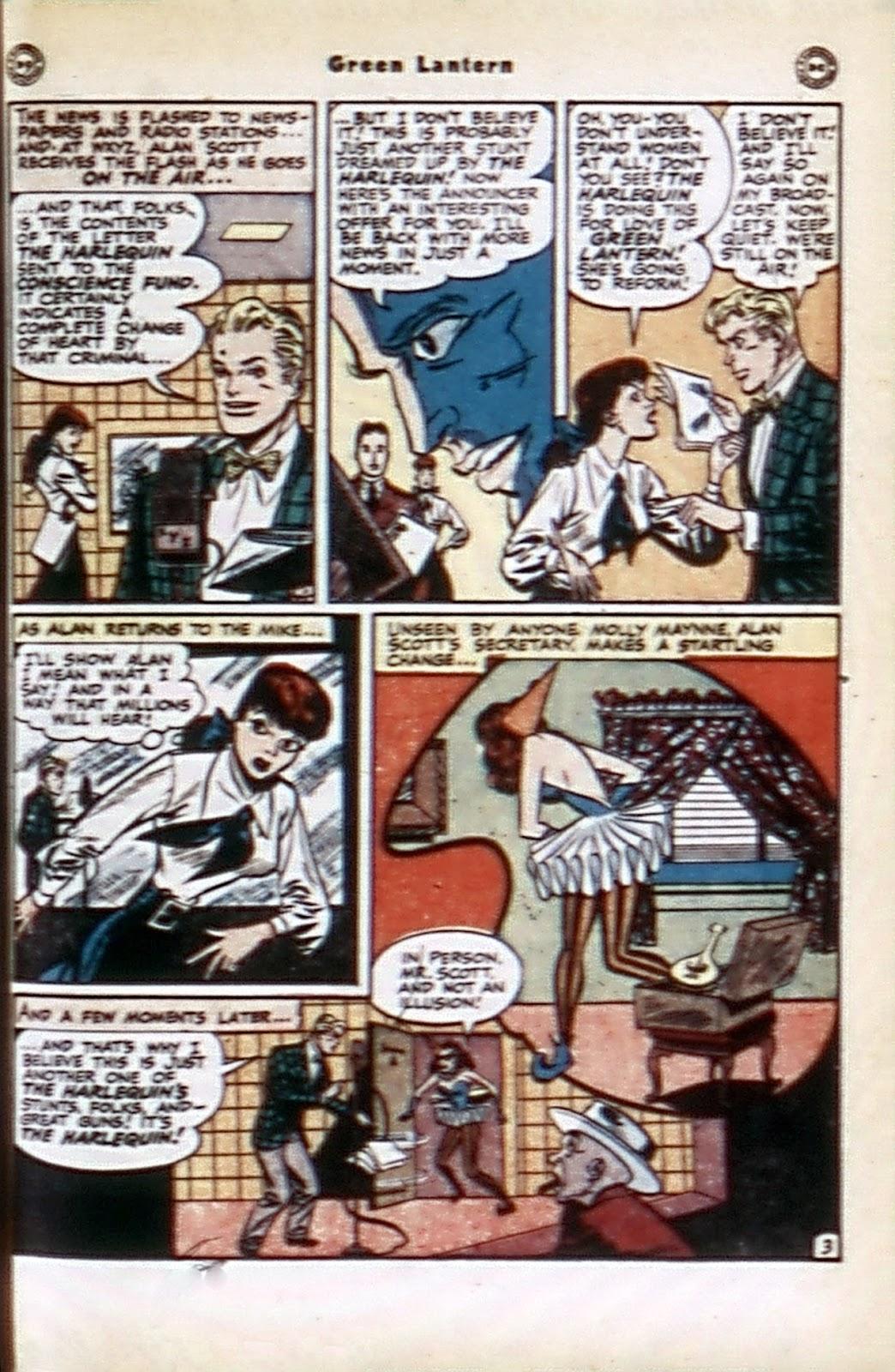 Green Lantern (1941) Issue #32 #32 - English 19