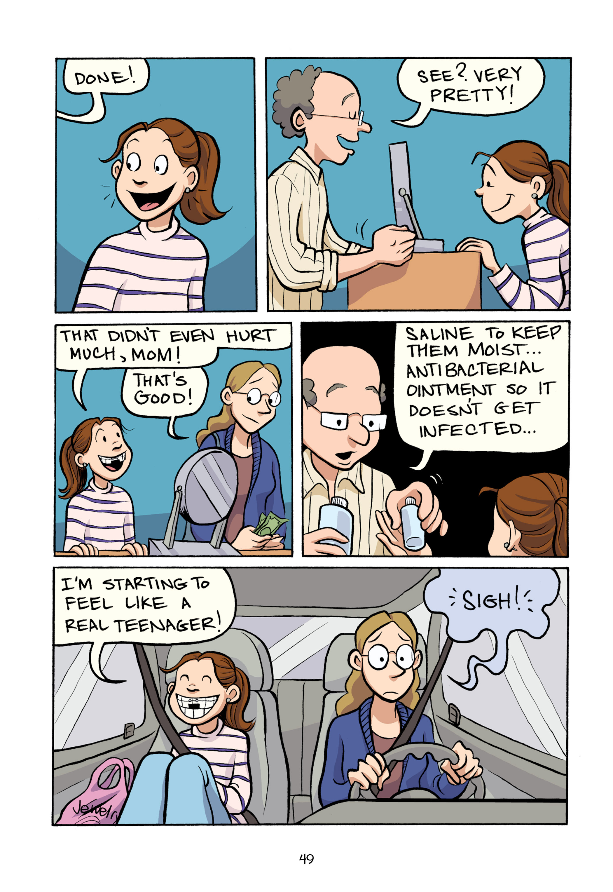 Read online Smile comic -  Issue # TPB - 55