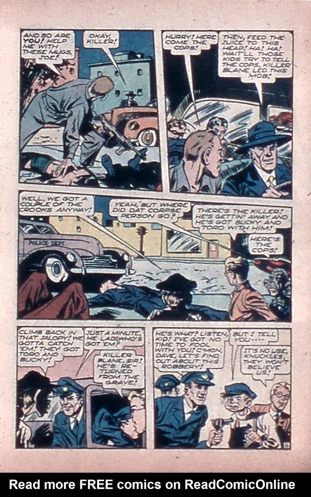 Read online Mystic Comics (1944) comic -  Issue #4 - 13
