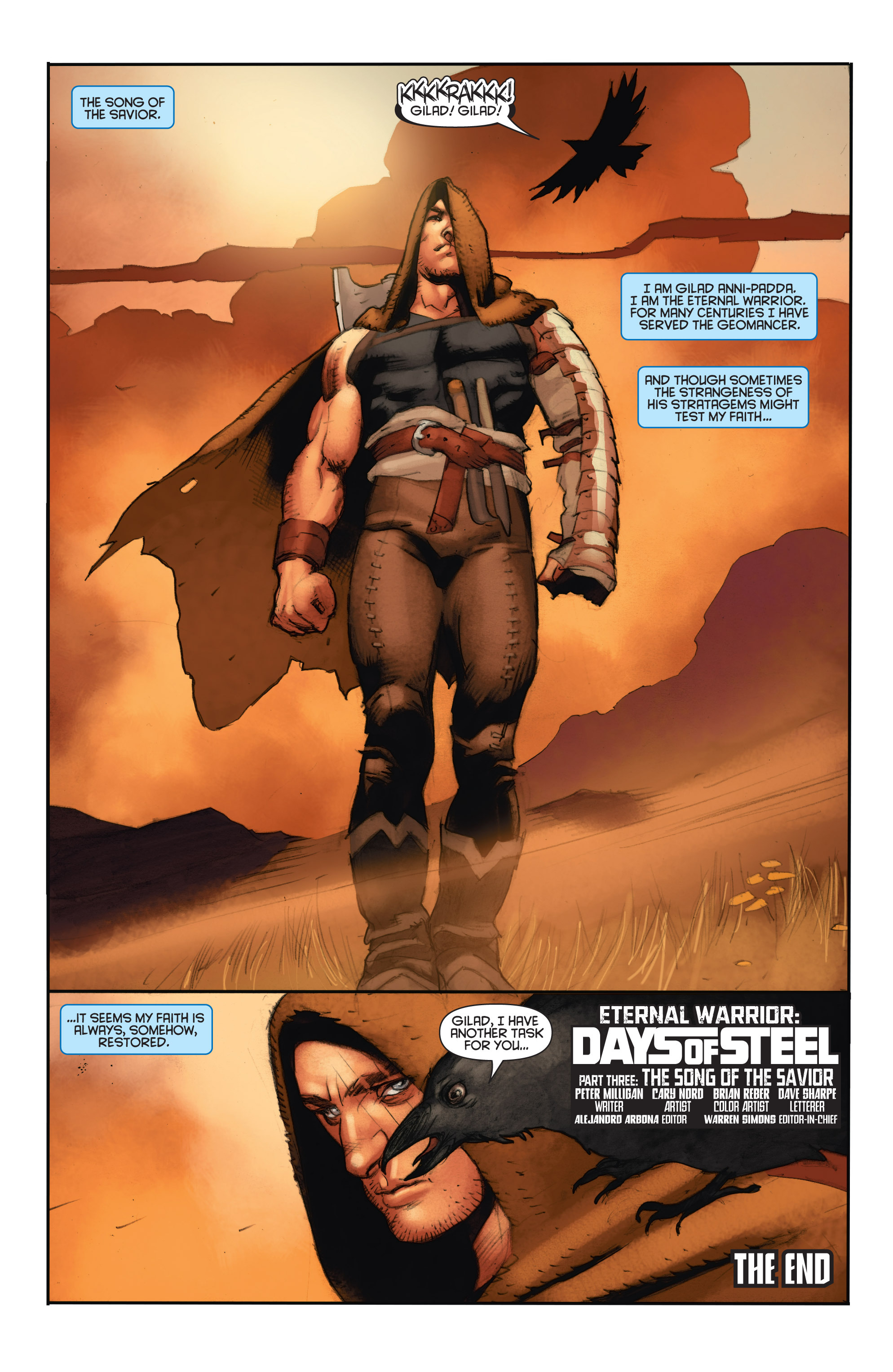 Read online Eternal Warrior: Days of Steel comic -  Issue #3 - 24