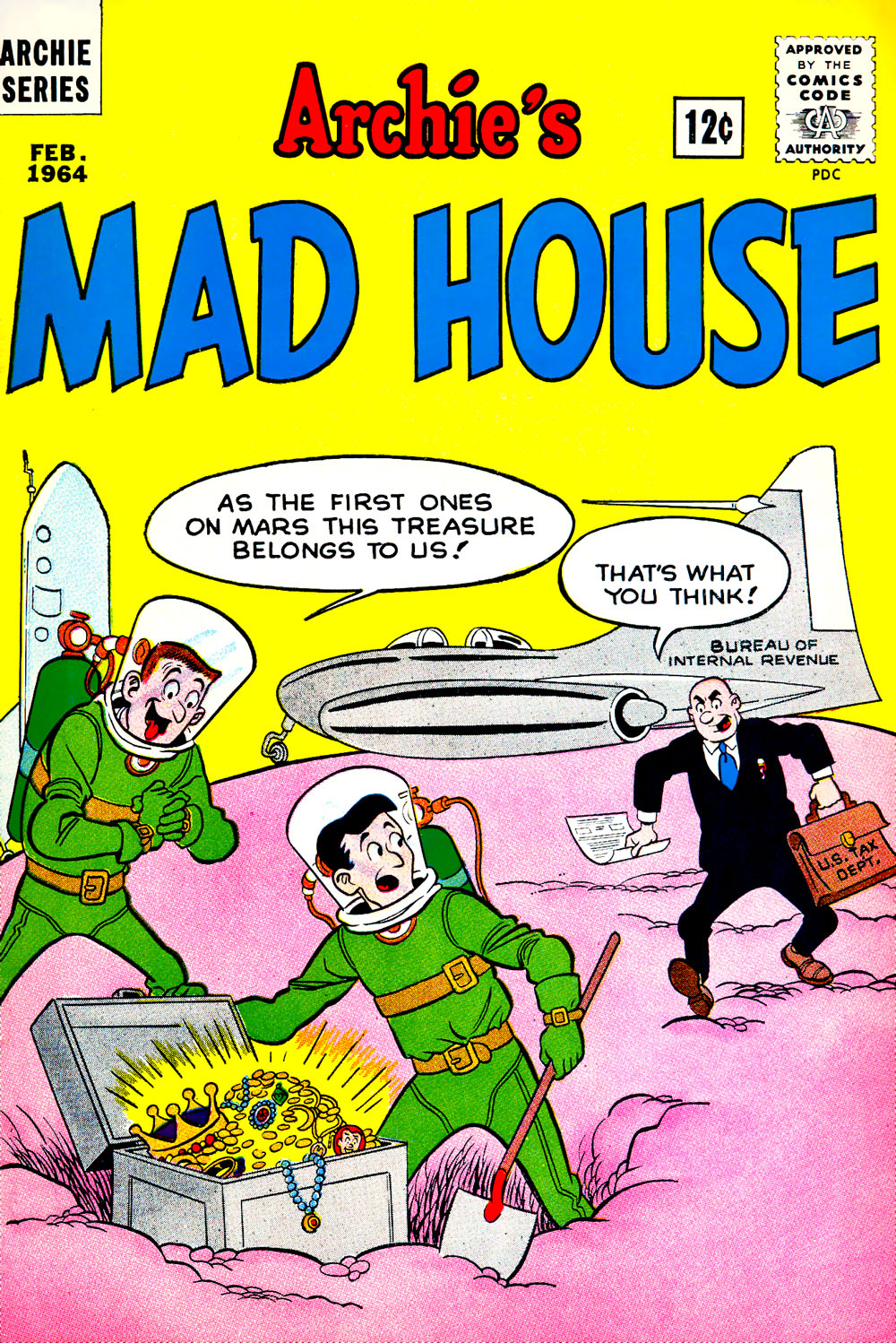 Archie's Madhouse issue 31 - Page 1