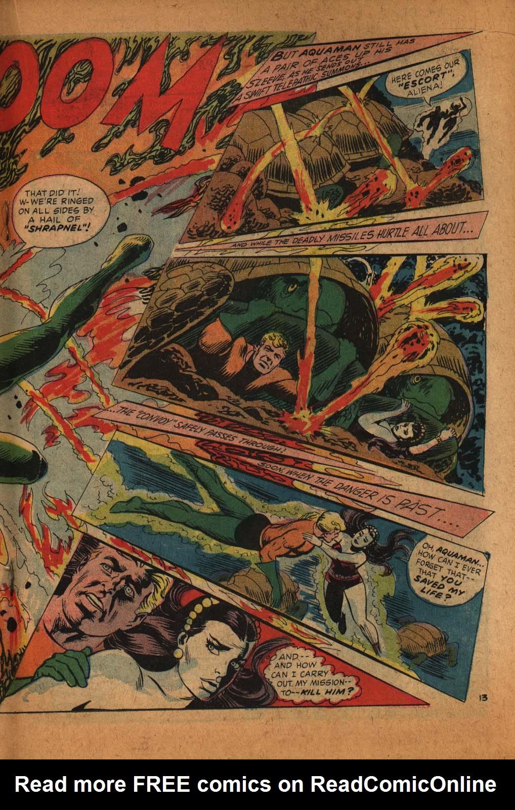 Read online Aquaman (1962) comic -  Issue #39 - 20