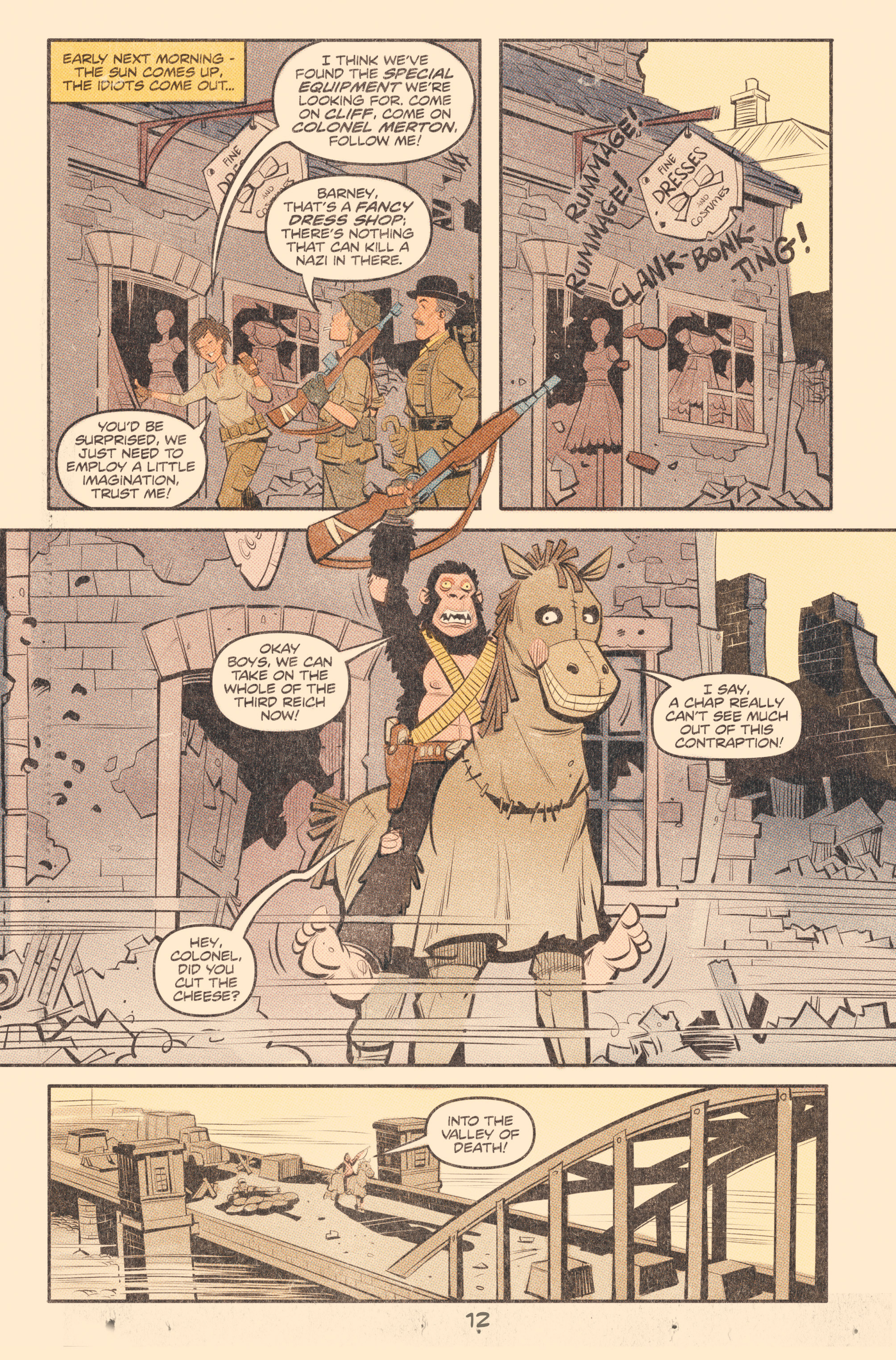 Read online Tank Girl: World War Tank Girl comic -  Issue #2 - 14