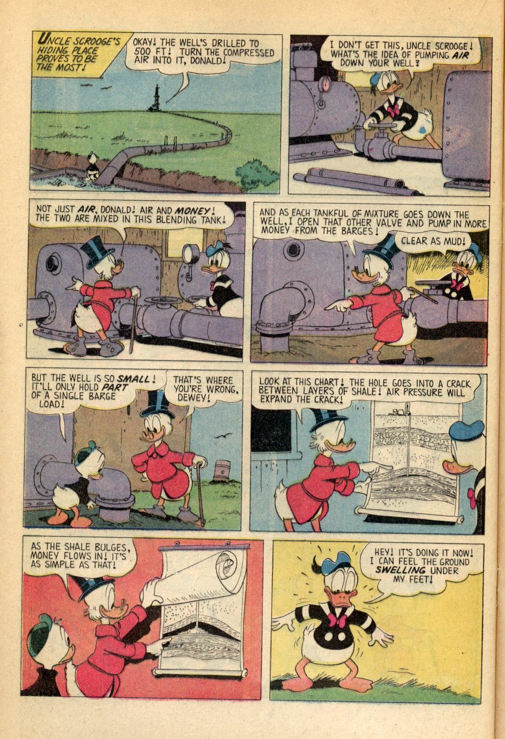 Read online Uncle Scrooge (1953) comic -  Issue #107 - 16