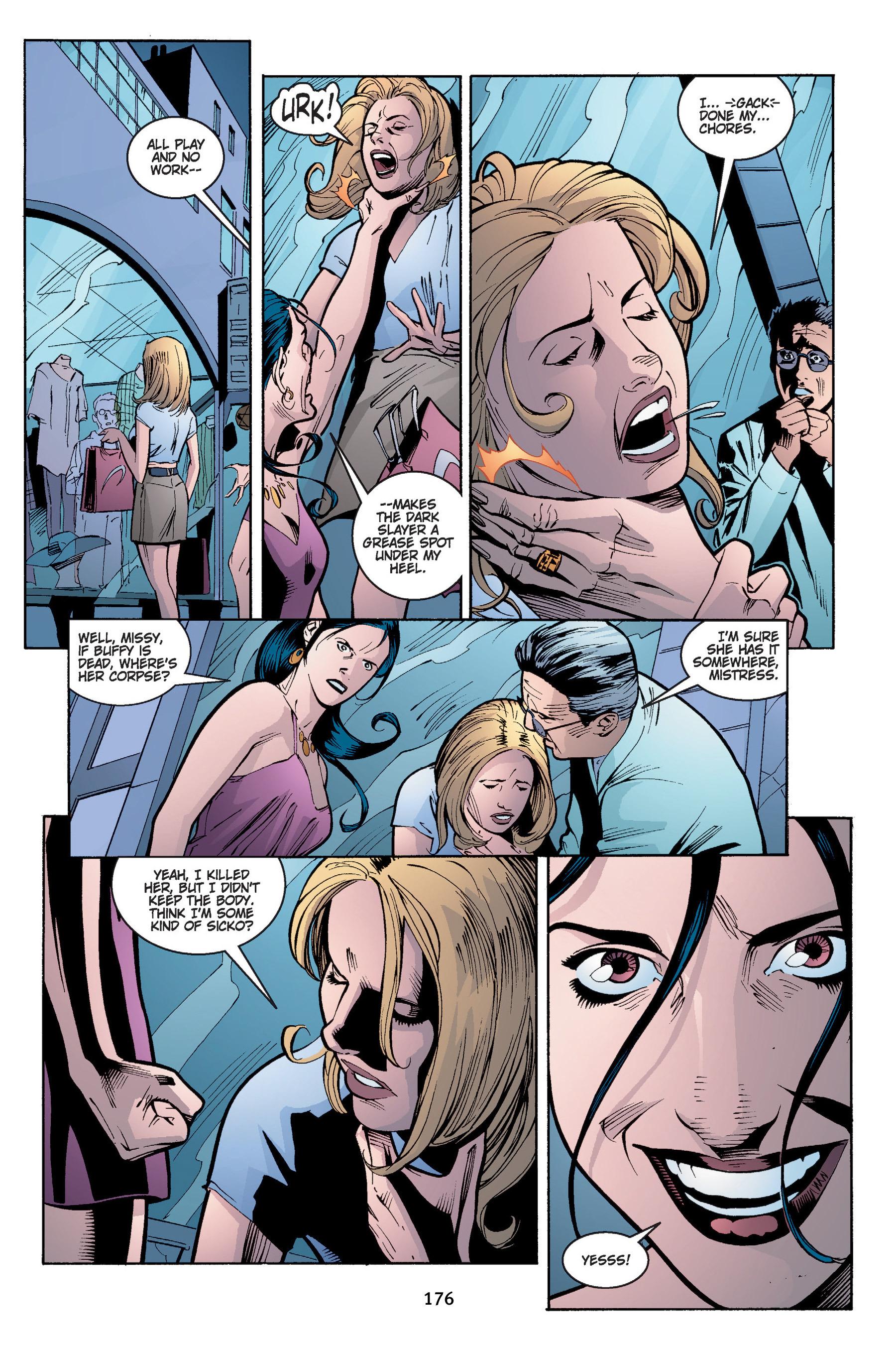 Read online Buffy the Vampire Slayer: Omnibus comic -  Issue # TPB 4 - 177