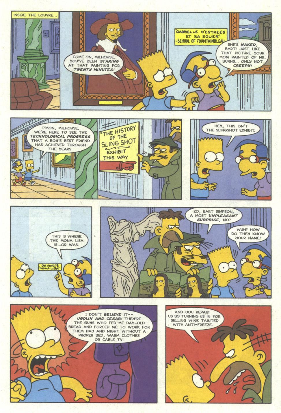 Read online Simpsons Comics comic -  Issue #23 - 14