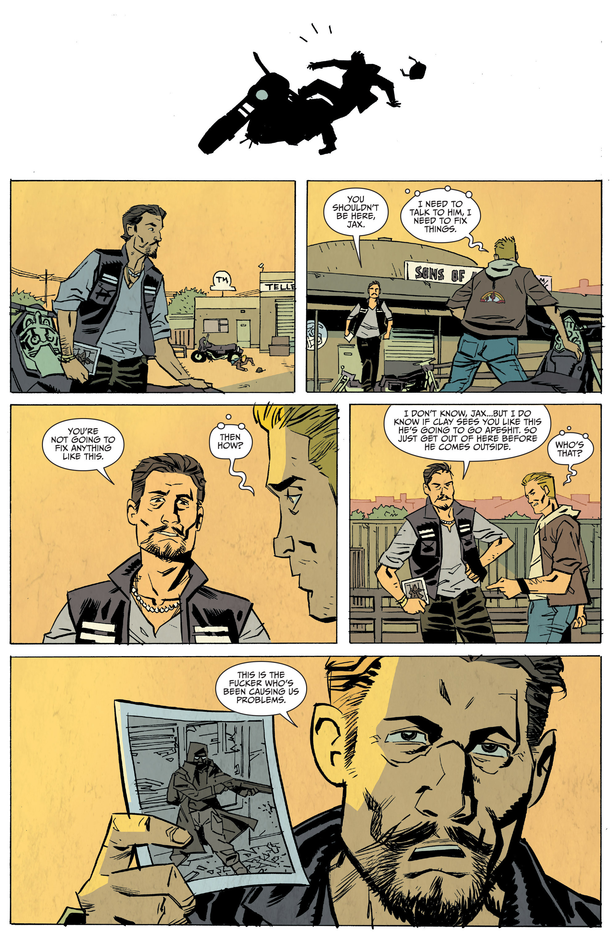 Read online Sons of Anarchy: Redwood Original comic -  Issue #5 - 13