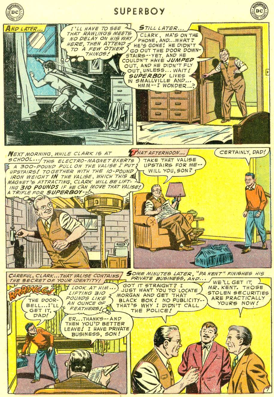 Superboy (1949) issue 42 - Page 8