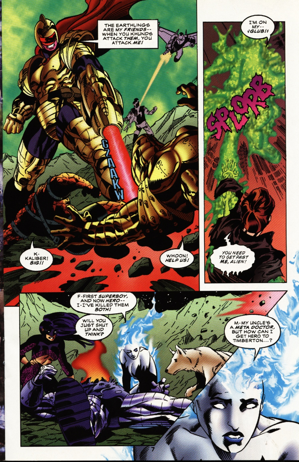 Read online Superboy & The Ravers comic -  Issue #12 - 8