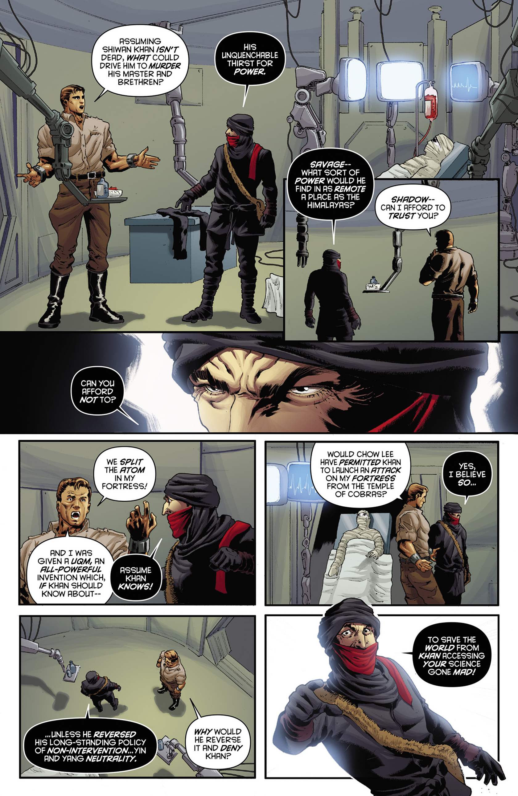Read online Justice, Inc. comic -  Issue #3 - 9