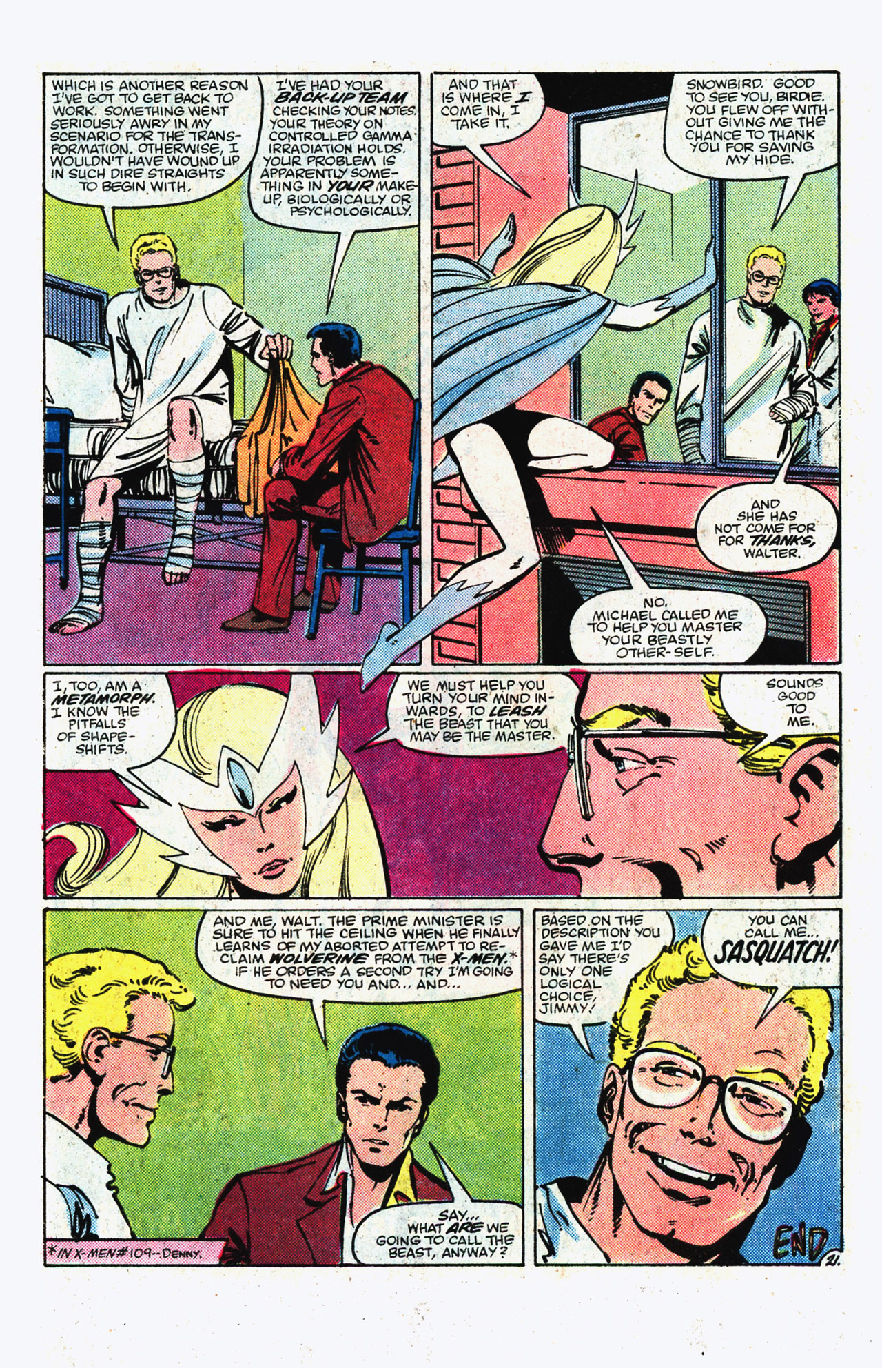 Read online Alpha Flight (1983) comic -  Issue #11 - 22
