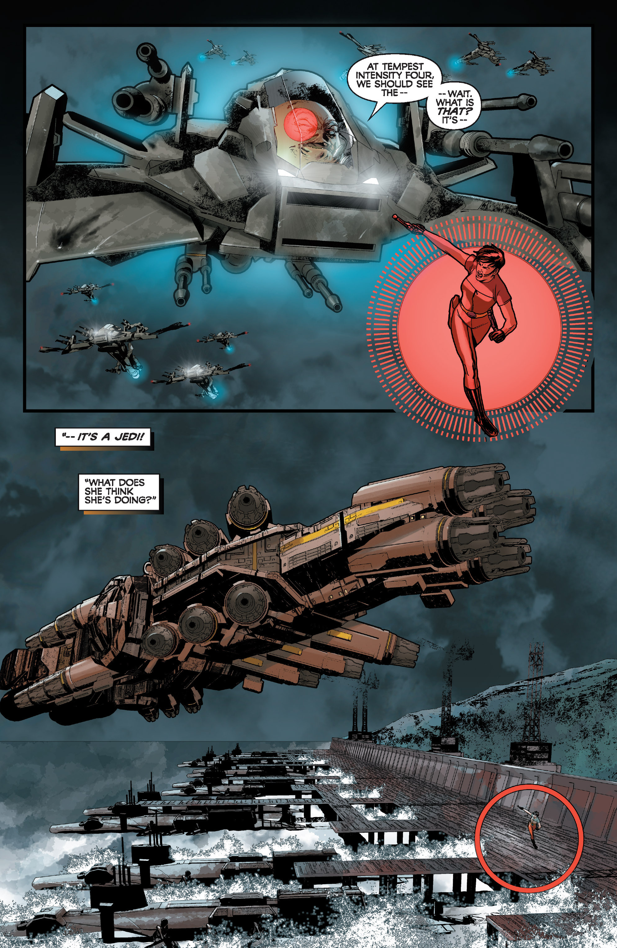 Read online Star Wars: Knight Errant - Deluge comic -  Issue #1 - 16