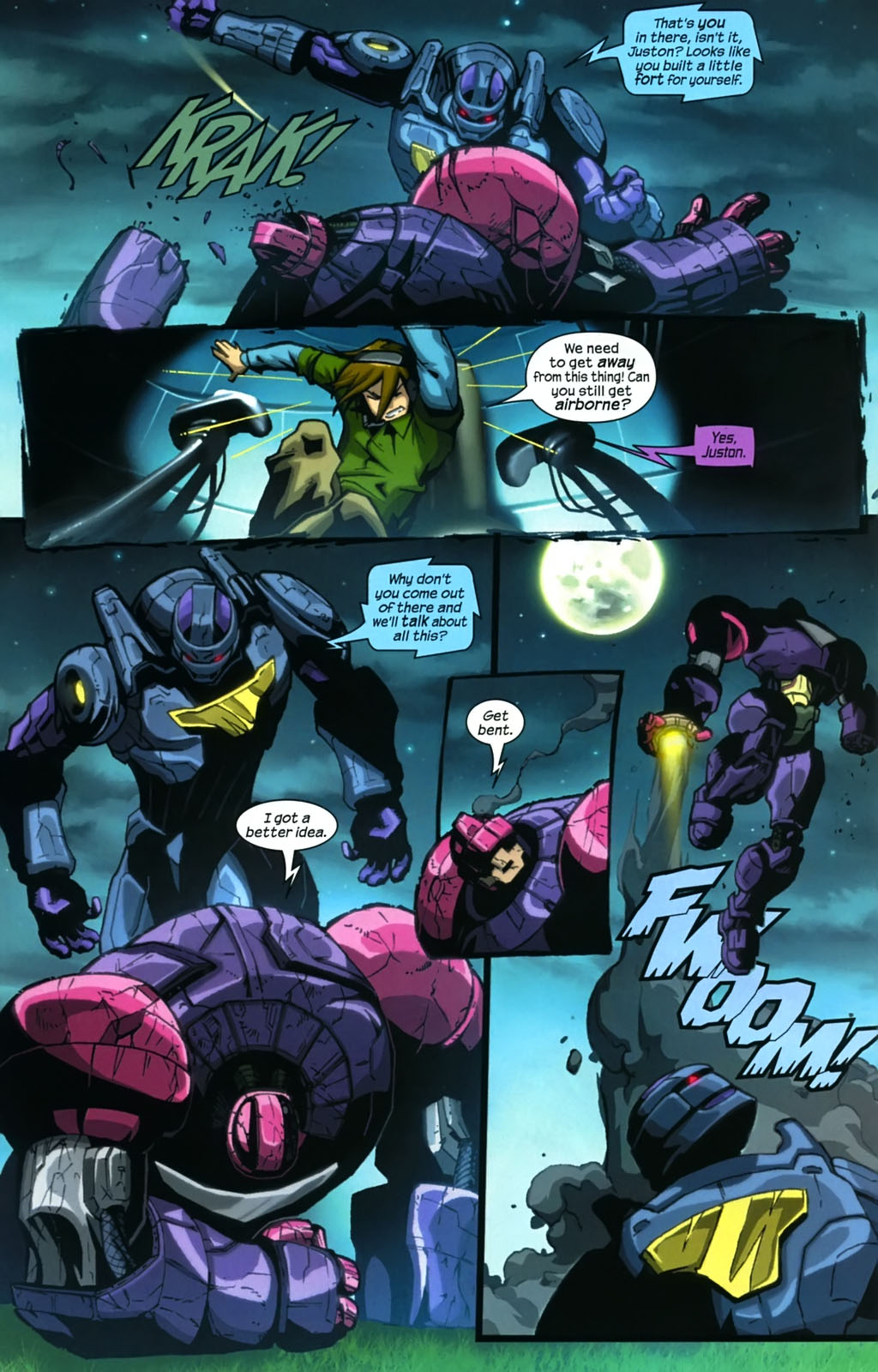 Read online Sentinel (2006) comic -  Issue #4 - 21