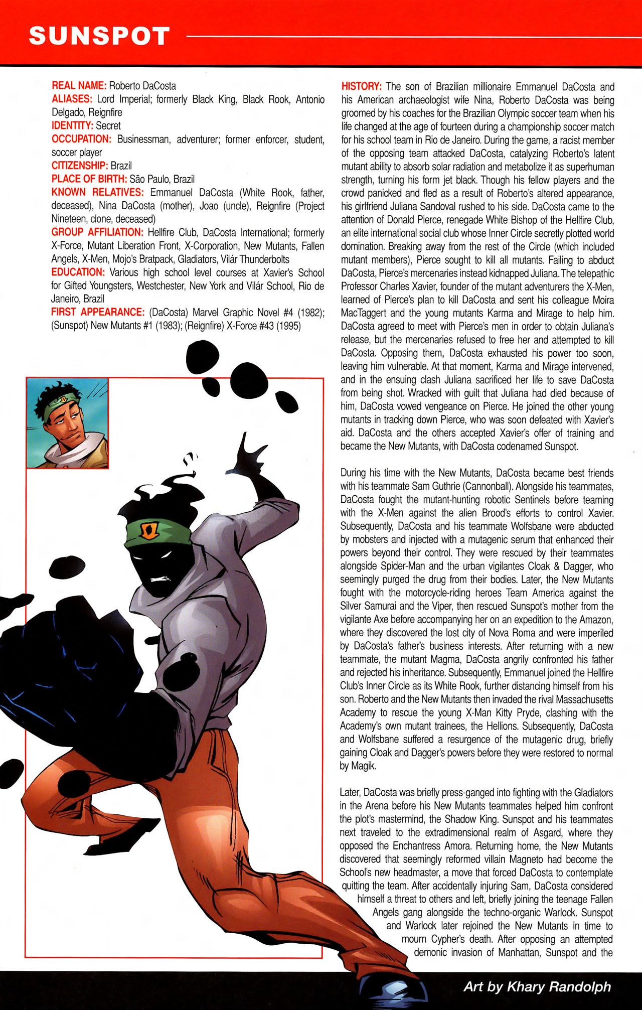 Read online All-New Official Handbook of the Marvel Universe A to Z comic -  Issue #11 - 14