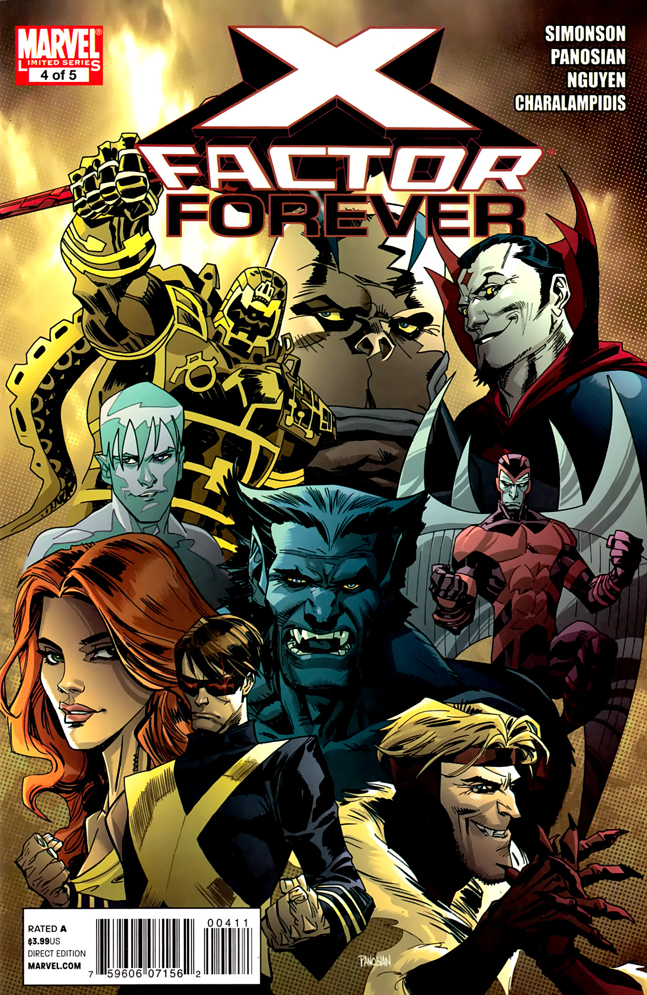 Read online X-Factor Forever comic -  Issue #4 - 1