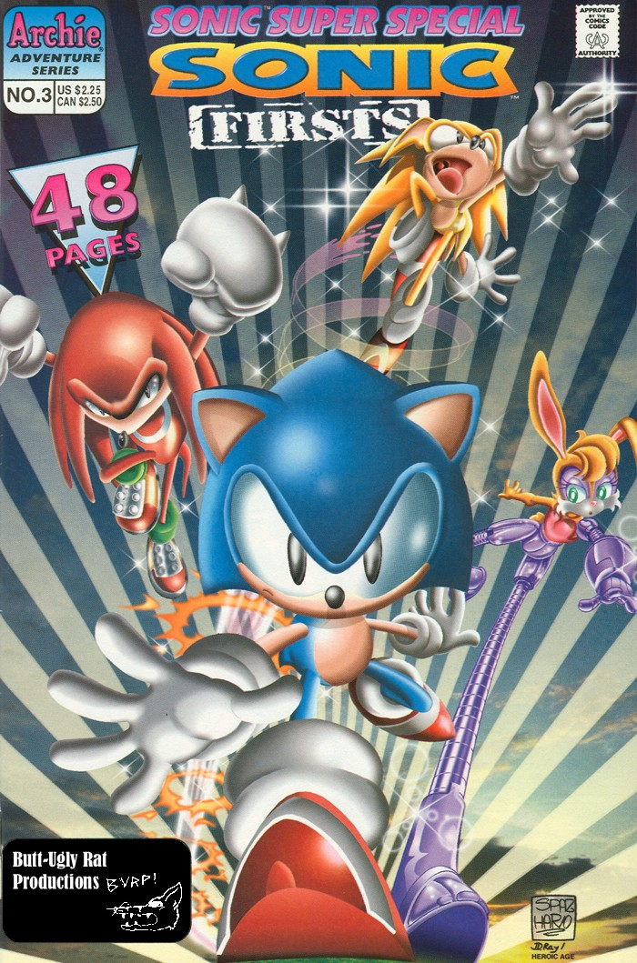Read online Sonic Super Special comic -  Issue #3 - Sonic Firsts - 1