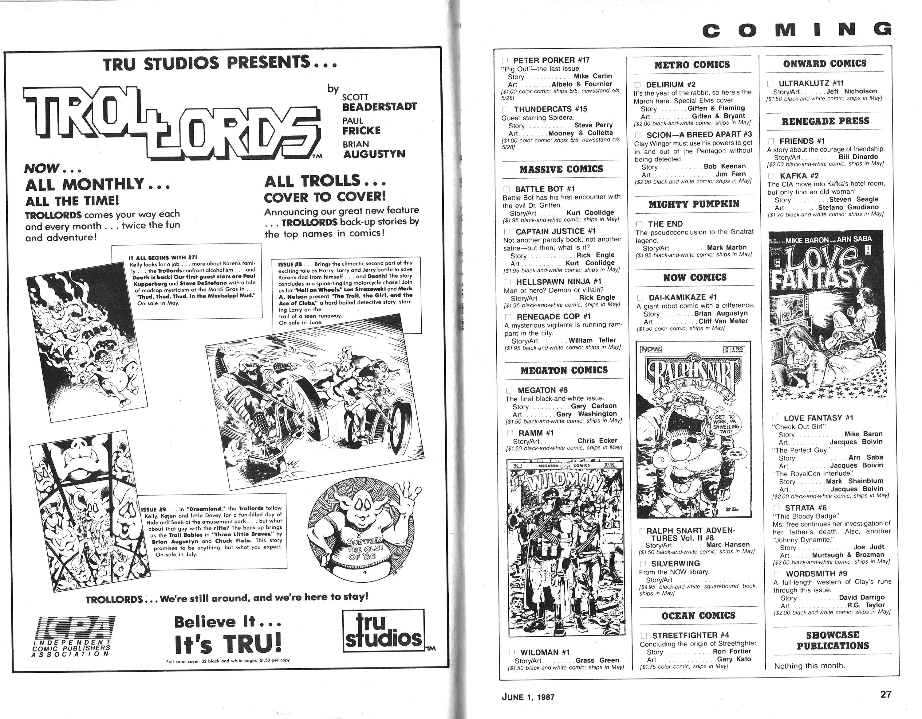 Read online Amazing Heroes comic -  Issue #118 - 14
