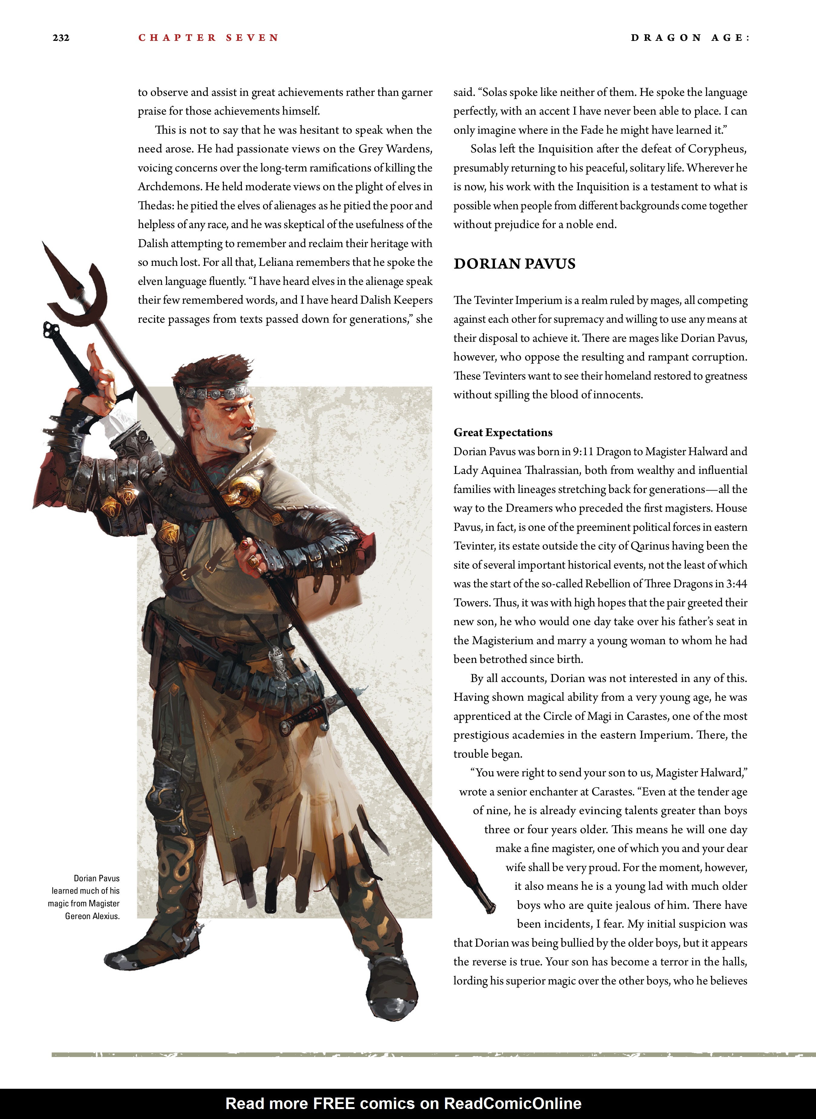 Read online Dragon Age: The World of Thedas comic -  Issue # TPB 2 - 227
