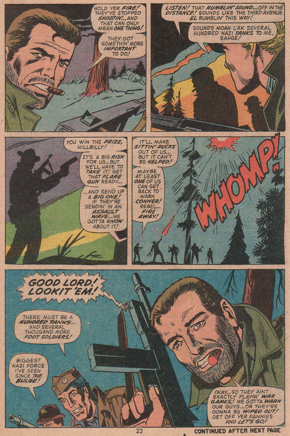 Read online Sgt. Fury comic -  Issue #104 - 25