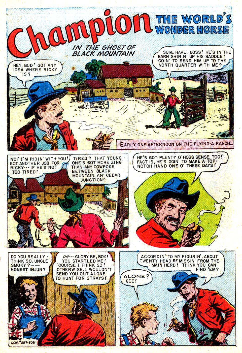 Four Color Comics issue 287 - Page 3