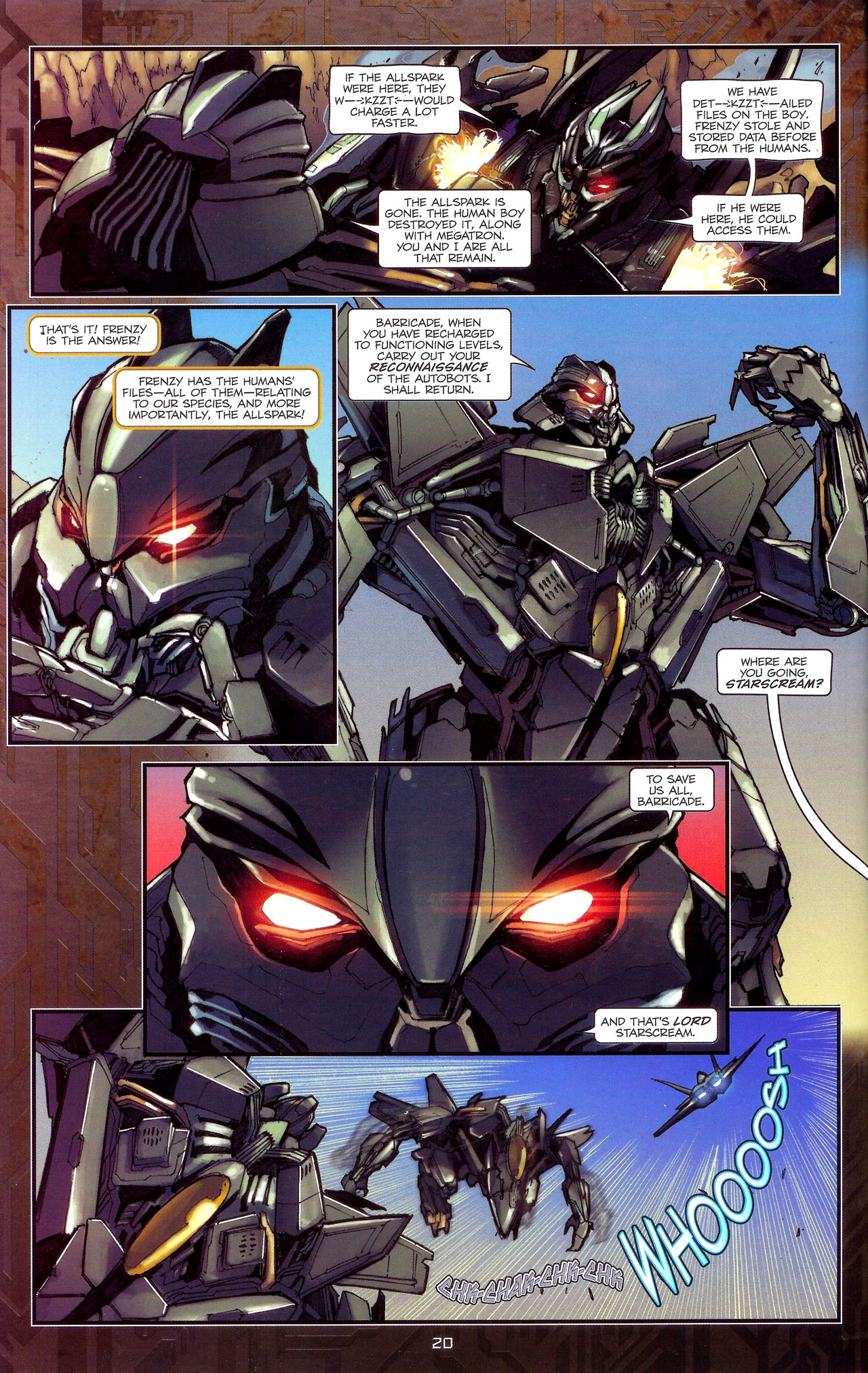 Read online Transformers: The Reign of Starscream comic -  Issue #1 - 23