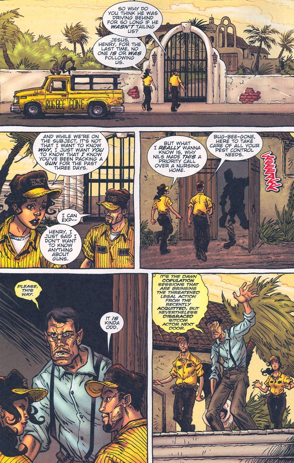 Read online The Exterminators comic -  Issue #16 - 6