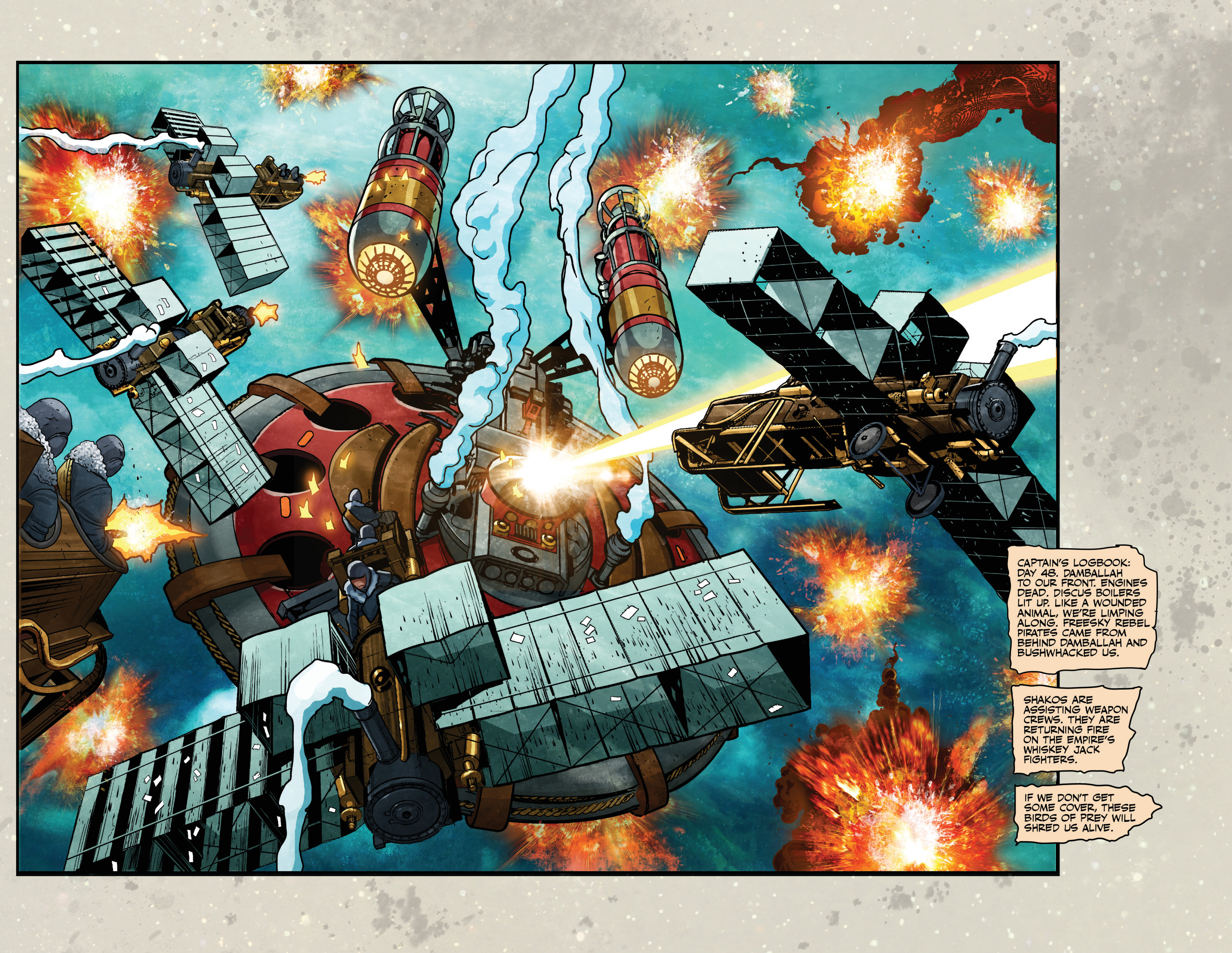 Read online Airship Enterprise: The Infernal Machine comic -  Issue #4 - 4