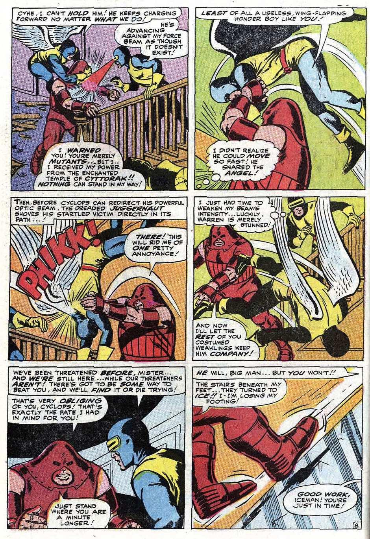Read online Uncanny X-Men (1963) comic -  Issue #67 - 34