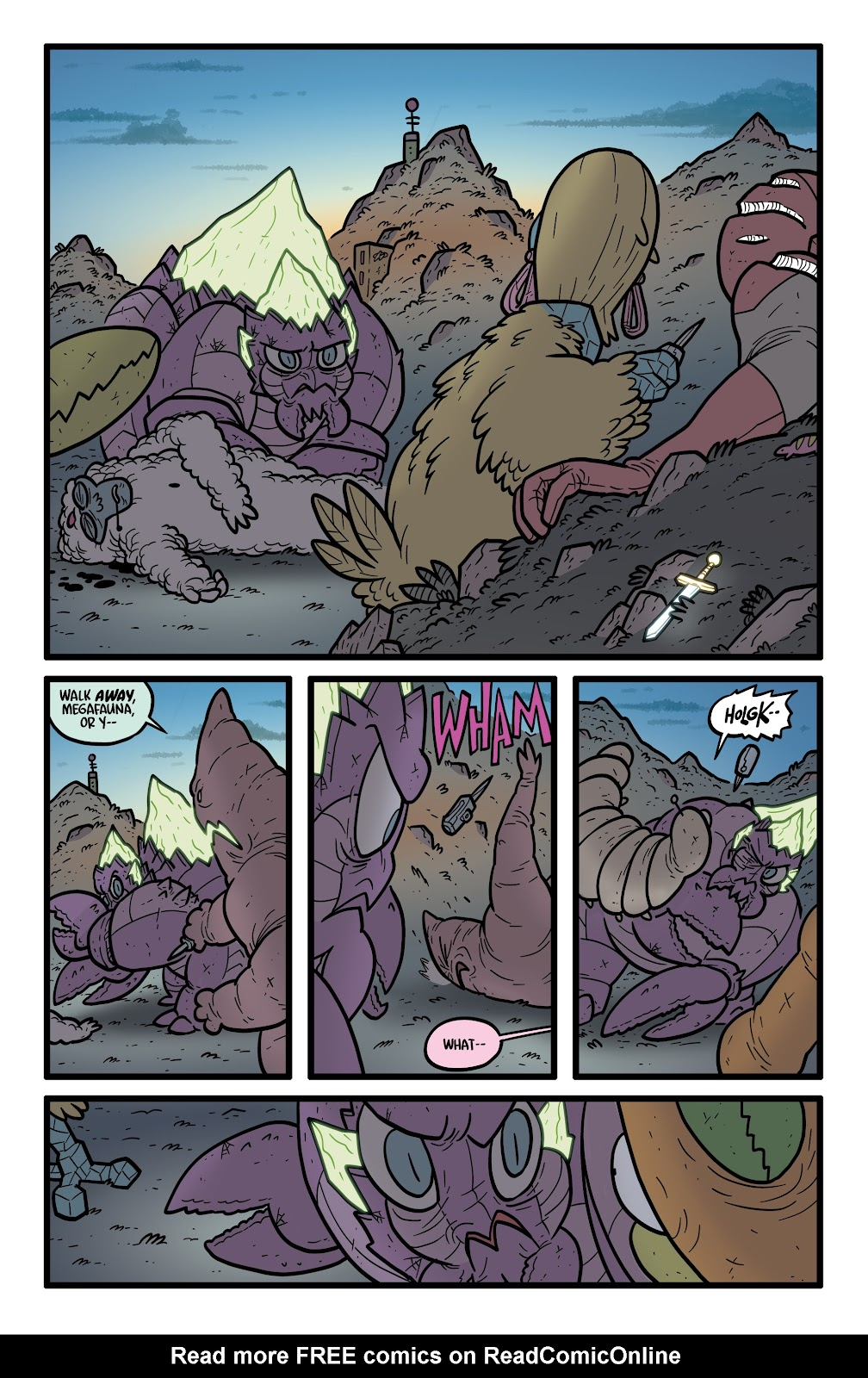 Read online Kaijumax: Season Four comic -  Issue #4 - 22