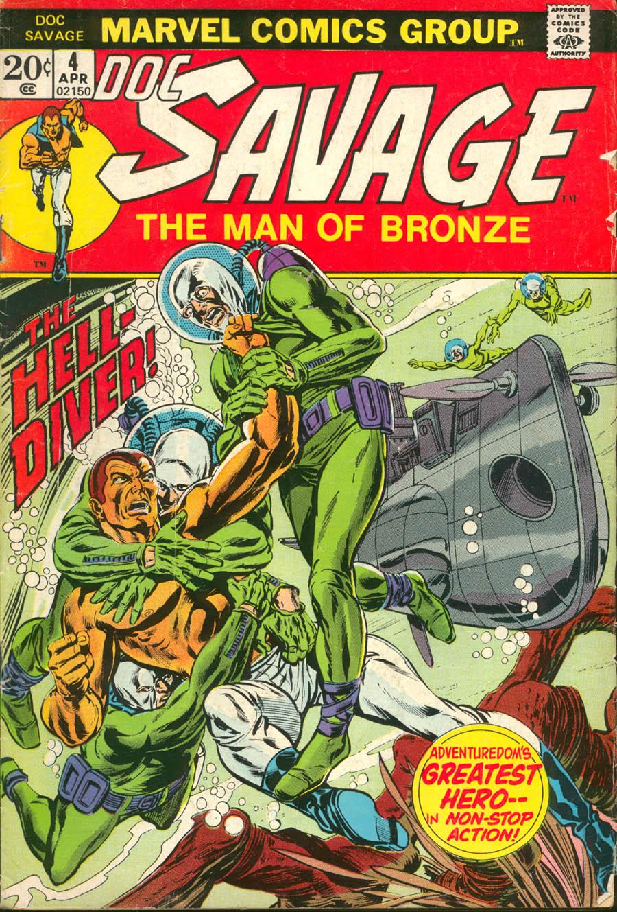 Doc Savage (1972) 4 Page 1