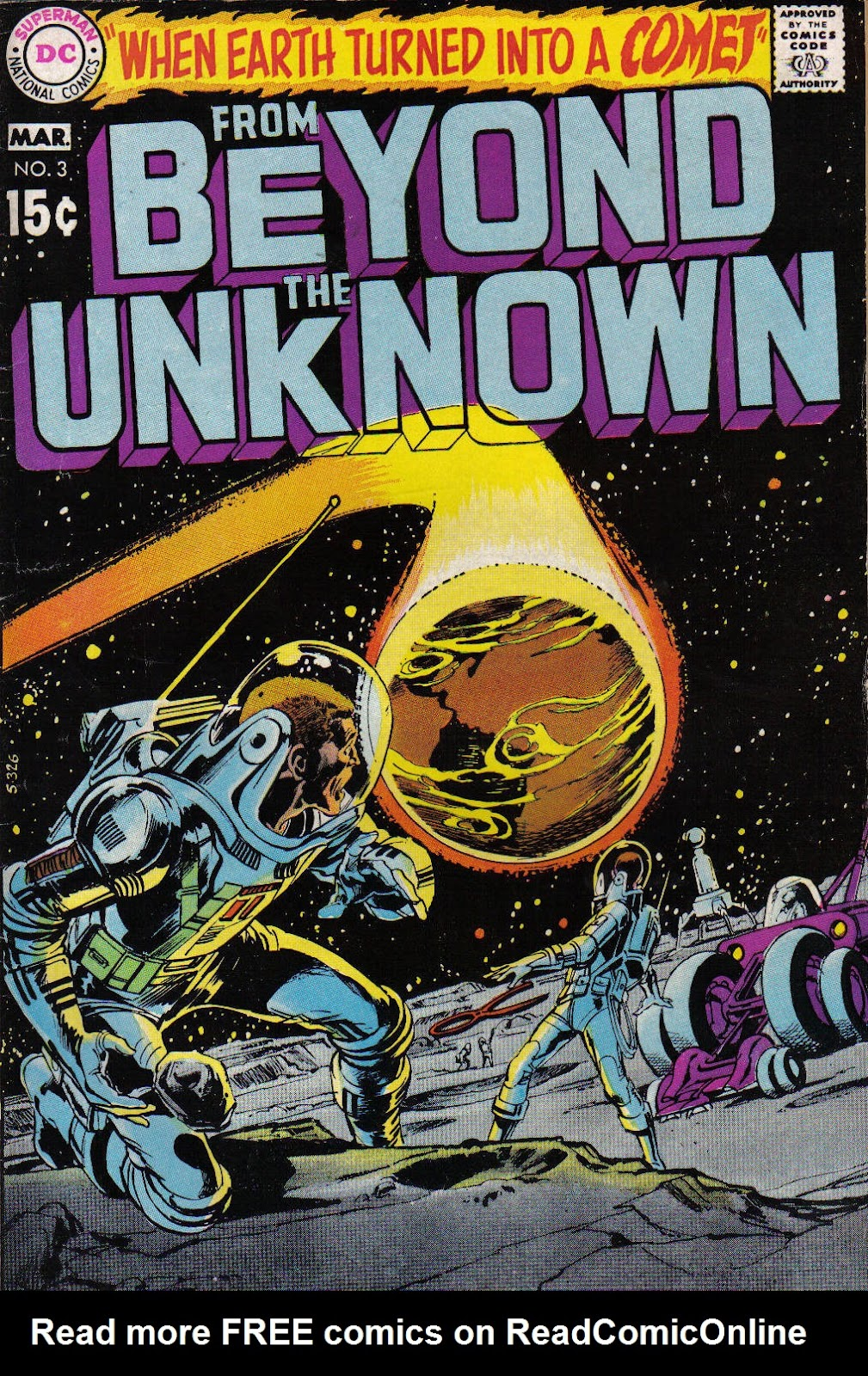 From Beyond the Unknown (1969) issue 3 - Page 1