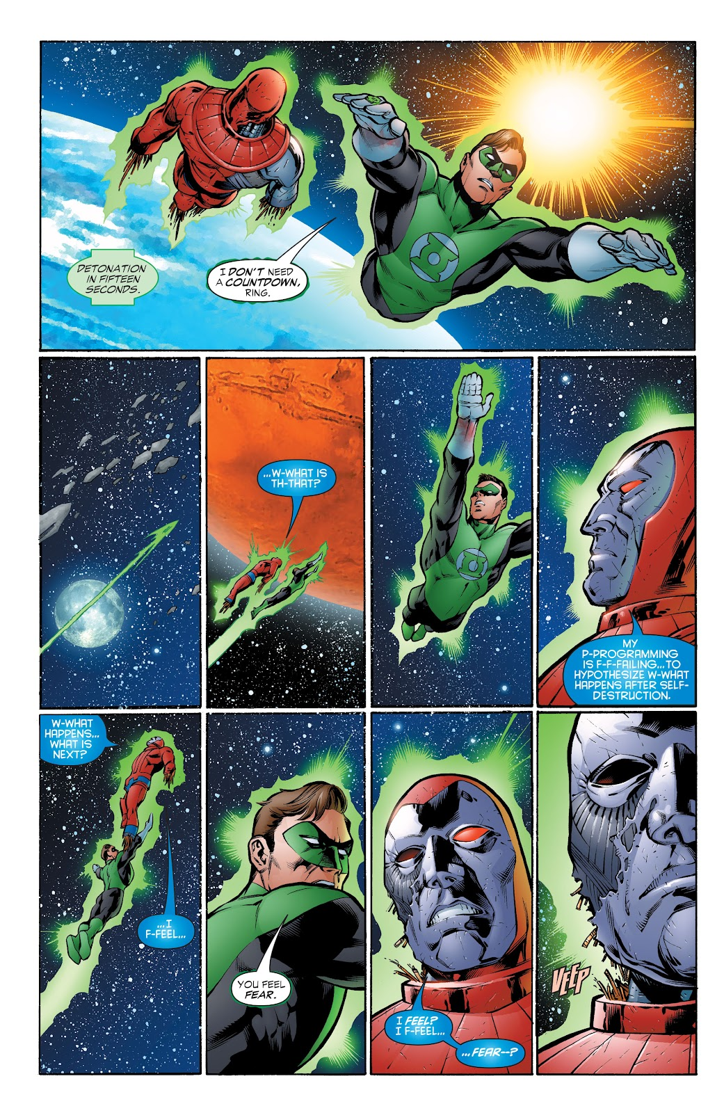 Read online Green Lantern by Geoff Johns comic -  Issue # TPB 1 (Part 4) - 62