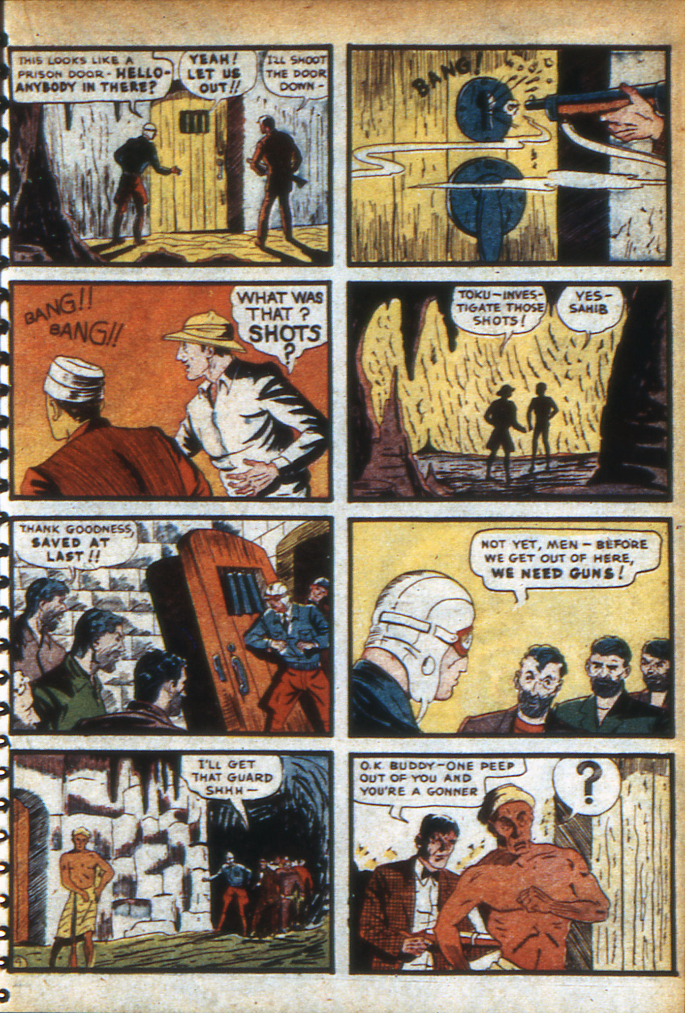 Read online Adventure Comics (1938) comic -  Issue #47 - 40