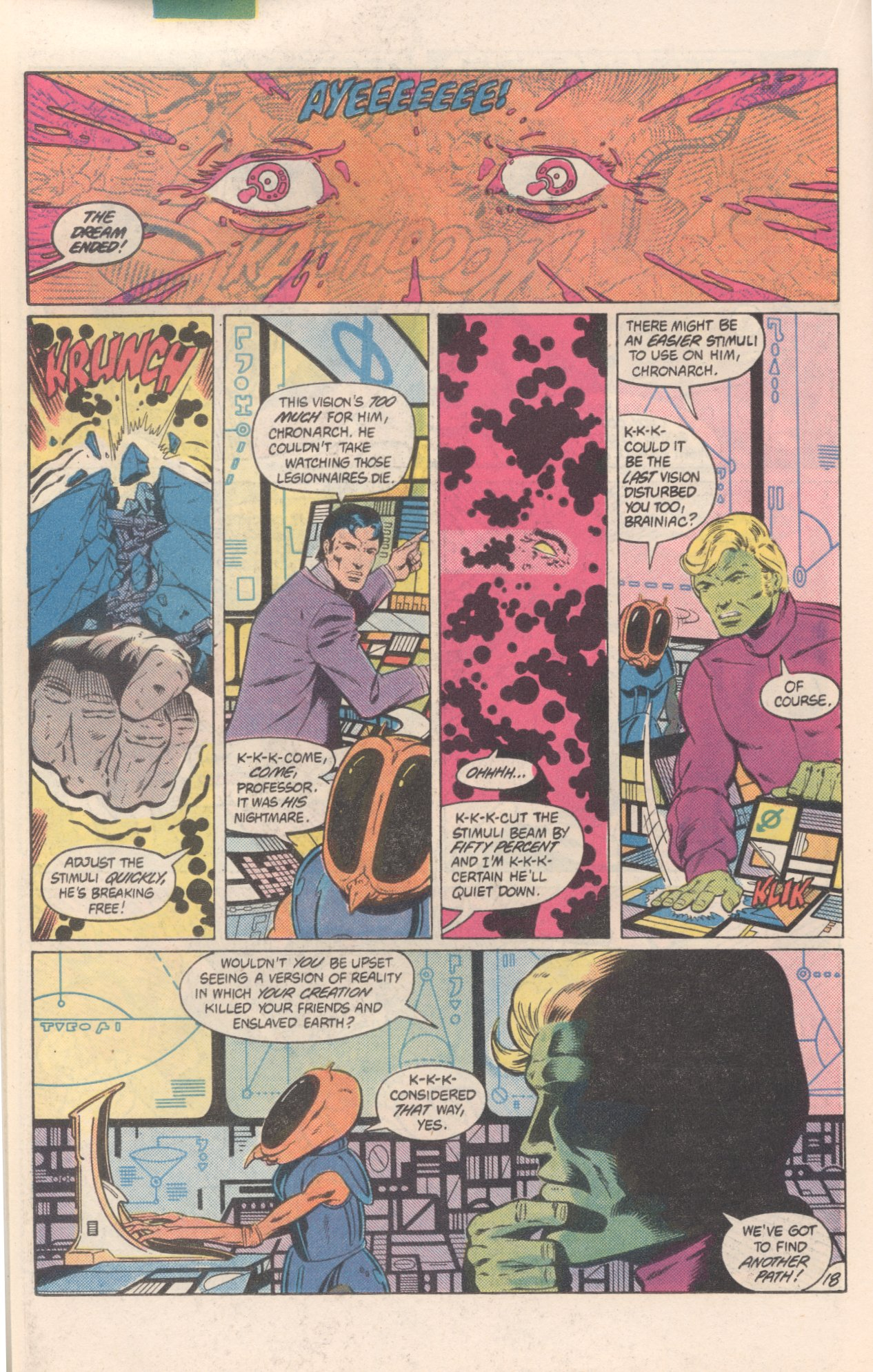Legion of Super-Heroes (1980) 300 Page 18