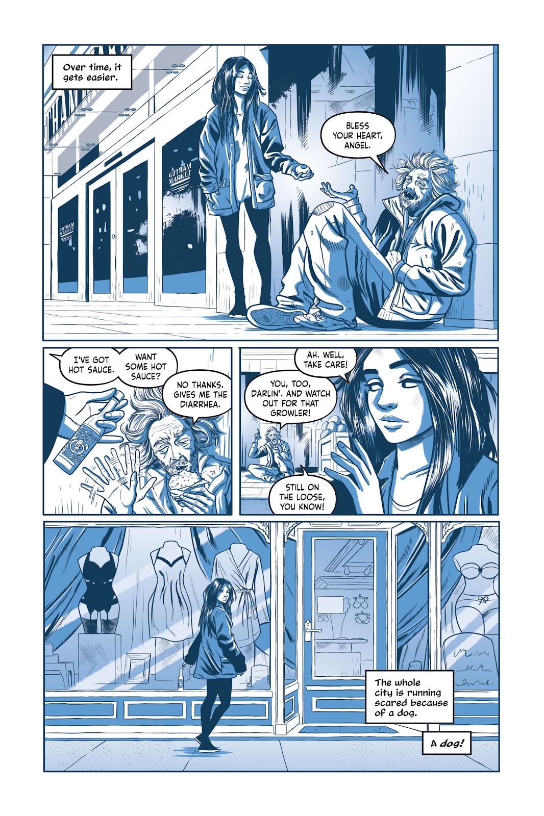 Read online Under the Moon: A Catwoman Tale comic -  Issue # TPB (Part 1) - 81