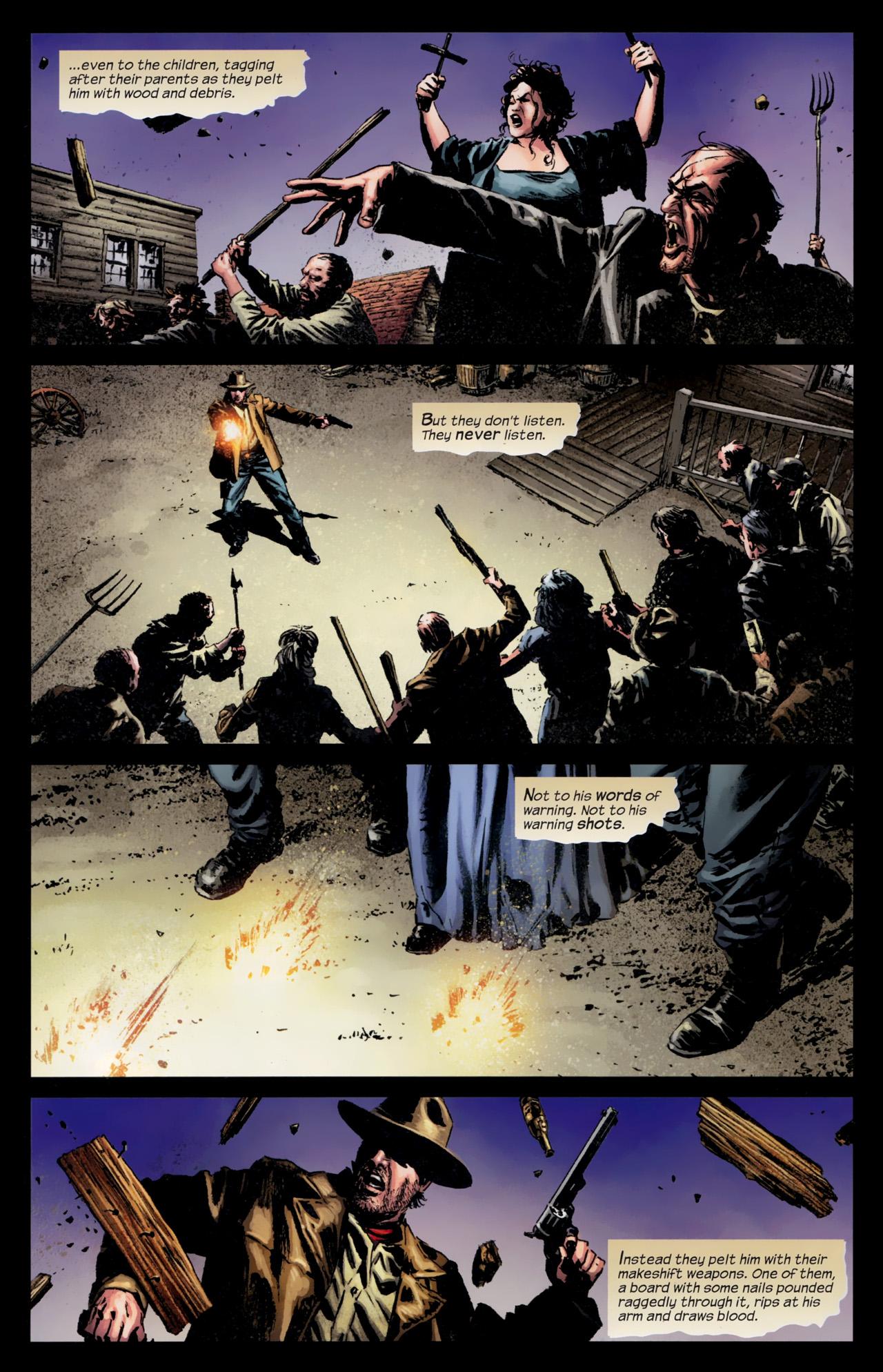 Read online Dark Tower: The Gunslinger - The Battle of Tull comic -  Issue #5 - 4
