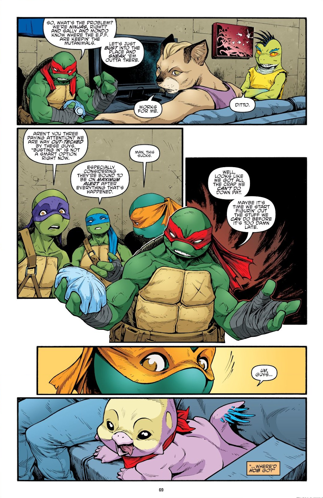 Read online Teenage Mutant Ninja Turtles: The IDW Collection comic -  Issue # TPB 9 (Part 1) - 70